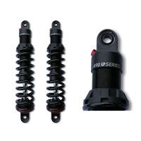 "Progressive Suspension 490-1004 490 Series 13"" Rear Shock Absorbers Black for Sportster 04-Up"