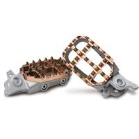 ProTaper PT02-3204 2.3 Platforms Footpeg Kit Steel/Magnesium for Yamaha Models