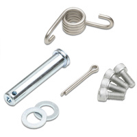 ProTaper PT02-3210 Replacement Footpeg Hardware Kit Steel