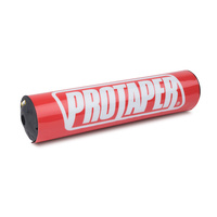 """ProTaper PT021641 10"""" Round Bar Pad Race Red"""