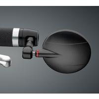 Rizoma Spy-R Bar End 80mm Mirror Black
