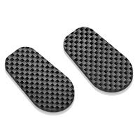 Rizoma Front OEM Marker Light Hole Carbon Caps for BMW S 1000 R/S 1000 RR/R nineT Scrambler