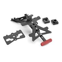 Rizoma Fox License Plate Support Black for Yamaha MT-09/FZ-09 17-20