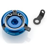 Rizoma Engine Oil Filler Cap Blue for Ducati Most Models/Honda Models/Kawasaki Some Models/Triumph Street Triple/R/RX