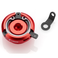 Rizoma Engine Oil Filler Cap Red for Suzuki Models
