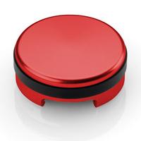 Rizoma Brake/Clutch Fluid Reservoir Cap Red for Honda/Kawasaki/KTM/Suzuki/Triumph/Yamaha