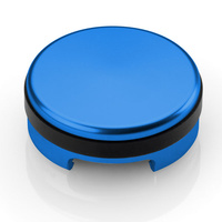 Rizoma Brake/Clutch Fluid Reservoir Cap Blue for Honda/Kawasaki/KTM/Suzuki/Triumph/Yamaha