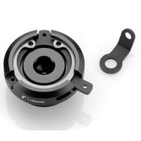 Rizoma Engine Oil Filler Cap Black for APRILIA RSV4 09-20/MV Agusta Other Models