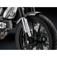 Rizoma Fork Tube Guards Silver for Ducati Scrambler 800 15-20