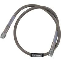 """Russell R58323S Stainless 68"""" Straight -3 X Straight -3 Universal Brake Line"""
