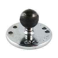RAM Mounts Chrome Round Plate w/Ball