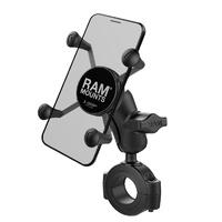 RAM Mounts X-Grip Phone Mount w/RAM Torque Large Rail Base & Short Arm