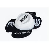 R&G Racing Aero Knee Sliders (Narrow Rear Profile) White (Pair)