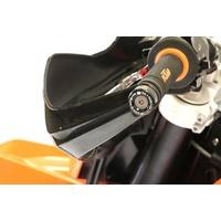 R&G Racing Bar End Sliders Black for KTM 690 Enduro/690 SMCR/1290 Superduke GT