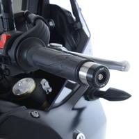 R&G Racing Bar End Sliders Black for Yamaha Tenere 700 19-20