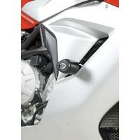 R&G Racing Aero Style Frame Crash Protectors Black for MV Agusta F3 675 12-16/F3 800 13-16