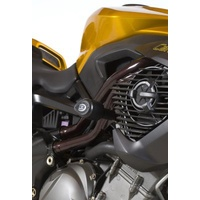 R&G Racing Aero Style Frame Crash Protectors Black for Benelli Cafe Racer 1130
