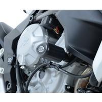 R&G Racing Crash Protector Aero Style Black for MV Agusta 675 Brutale/Stradale 800/Turismo Veloce 800