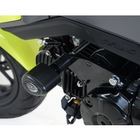 R&G Racing Aero Style Engine Crash Protectors Black for Honda MSX125 13-16/GROM 125 13-16