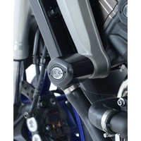 R&G Racing Aero Style Front Crash Protectors Black for Yamaha MT-09 13-16/FZ-09 13-16/MT-09 TRACER 15-18/XSR900 16-20/Tracer 900 GT 18-20