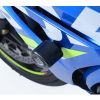 R&G Racing Aero Style Frame Crash Protectors (Non-Drill) Black for Suzuki GSX-R1000/GSX-R1000R 17-20