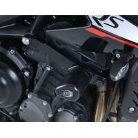 R&G Racing Aero Style Frame Crash Protectors Black for Triumph Street Triple R 765/S 765 17-18/RS 765 17-20