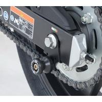 R&G Racing Cotton Reels M10 Black for Honda CBR500R 13-18/CB500F 13-18/CB500X 13-18