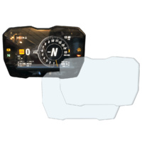 R&G Racing Dashboard Screen Protector Kit for Ducati Panigale V4 17-19/V4S 18-20/Streetfighter V4/V4 S/Panigale V4R 2020