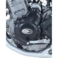 R&G Racing Left Side Engine Case Cover Black for Honda CRF250L 13-20/CRF250M 14-15