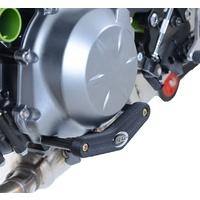 R&G Racing Left Side Engine Case Slider Black for Kawasaki Z650 17-20