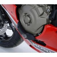R&G Racing Left Side Engine Case Slider Black for Honda CBR1000RR Fireblade/RR SP/RR SP2 17-19