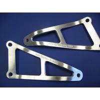 R&G Racing Exhaust Hanger (Single) Silver for Honda CBR600 92-98
