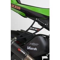 R&G Racing Exhaust Hanger (Single) Black for Kawasaki ZX6R 09-20