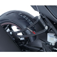 R&G Racing Exhaust Hanger (Single) Black for Suzuki GSX-S 17-18