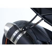 R&G Racing Exhaust Hanger (Single) Black for KTM 1290 Super Duke R 17-19