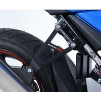 R&G Racing Exhaust Hanger (Single) Black for Suzuki GSX 250R 17-20