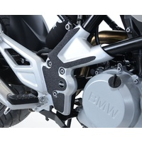 R&G Racing Boot Guard Kit (2 Piece) Black for BMW G310R 17-19