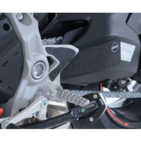 R&G Racing Boot Guard Kit (3 Piece) Black for Ducati Supersport/Supersport S 17-20