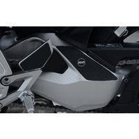 R&G Racing Boot Guard Kit (3 Piece) Black for Honda CB1000R/CB1000R PLUS 18-20