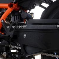 R&G Racing Boot Guard Kit (1 Piece) Black for KTM 1290 Super Duke R 2020