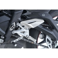 R&G Racing Boot Guard Kit (4 Piece) Black for Triumph Street Triple R 765 17-18/S 765 17-18/RS 765 17-20