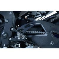 R&G Racing Boot Guard Kit (4 Piece) Black for Yamaha YZF-R1/R1M 15-20
