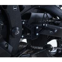 R&G Racing Boot Guard Kit (3 Piece) Black for Yamaha YZF-R6 17-20
