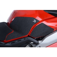 R&G Racing Tank Traction Pads (4 Piece) Black for Ducati Panigale V4 17-19/V4S 18-20/V4R 2020/Streetfighter V4/Streetfighter V4 S 2020