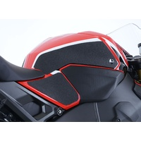 R&G Racing Tank Traction Pads (4 Piece) Black for Honda CBR1000RR Fireblade/CBR1000RR SP/CBR1000RR SP2 17-19