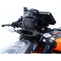 R&G Racing Front Indicator Adapter Kit Black for KTM 1290 Super Duke R/790 Adventure/790 Duke/890 Duke R