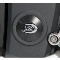 R&G Racing Left Side Frame Plug (Single) Black for Triumph Speed Triple 05-10/Sprint GT 10-18/Sprint ST 2010
