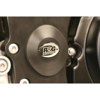 R&G Racing Lower Right Side Frame Plug (Single) Black for Suzuki GSX-R1000 07-16