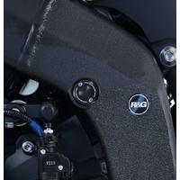 R&G Racing Upper Left Side Frame Plug (Single) Black for Yamaha YZF-R6 17-20