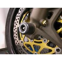 R&G Racing Fork Protectors Black for Kawasaki ZX10-R 04-05